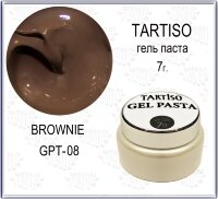TARTISO GEL PASTA №08 Гель паста 7гр Brownie