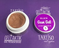 GELLAKTIK GUM GEL NEW FORMYLA BROWN 7гр