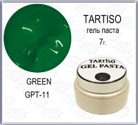 TARTISO GEL PASTA №11 Гель паста 7гр Creen