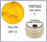 TARTISO GEL PASTA №13 Гель паста 7гр Yellow