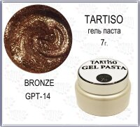 TARTISO GEL PASTA №14 Гель паста 7гр Bonze