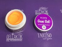 GELLAKTIK GUM GEL NEW FORMYLA ORANGE 7гр