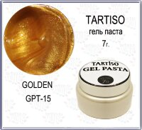 TARTISO GEL PASTA №15 Гель паста 7гр Golden