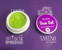 GELLAKTIK GUM GEL NEW FORMYLA  LIME 7гр