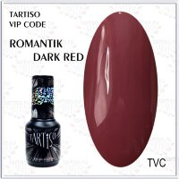 TARTISO гель лак VIP CODE Romantik Dark Red,15ml