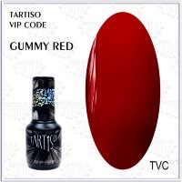 TARTISO гель лак VIP CODE Gummy Red,15ml