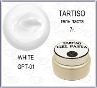 TARTISO GEL PASTA №01 Гель паста 7гр WHITE