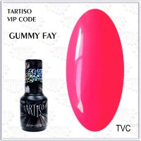 TARTISO гель лак VIP CODE Gummy Fay,15ml
