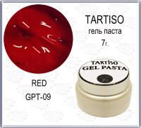 TARTISO GEL PASTA №09 Гель паста 7гр RED