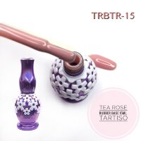 TARTISO RUBBER BASE 15ml Каучуковая база TEA ROSE