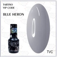 TARTISO гель лак VIP CODE Blue Heron,15ml