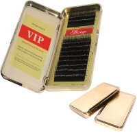 Ресницы шелк VIP-MINK LASHES MIX D 0.15 Gold box